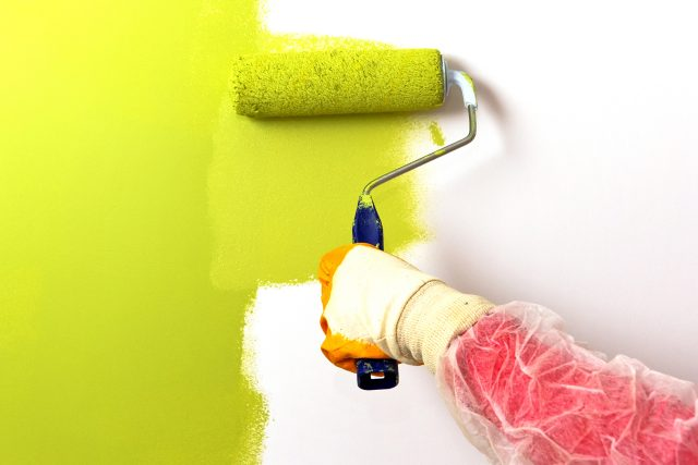 Best freshly painted interior walls