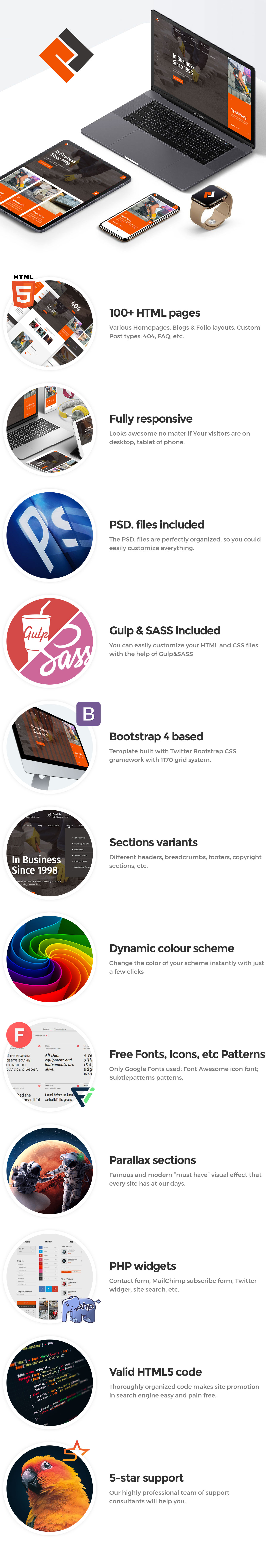 Pawex - Paving Contractor HTML Template - 1