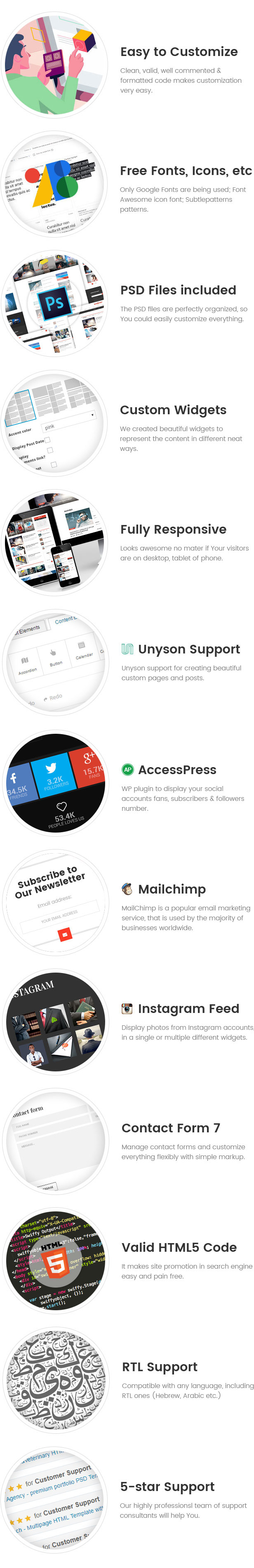 Scientist - innovations and research news magazine WordPress theme