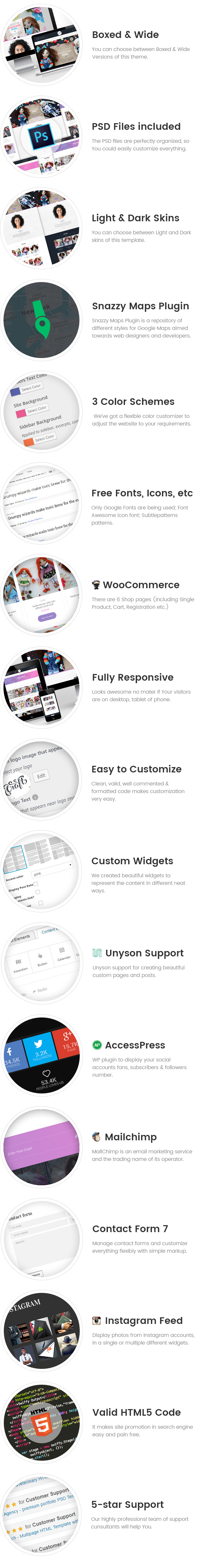 CraftPro - Hobby and Crafts WordPress Theme craftly - hobby and crafts wordpress theme (creative) Craftly – Hobby and Crafts WordPress Theme (Creative) craftpro wp features