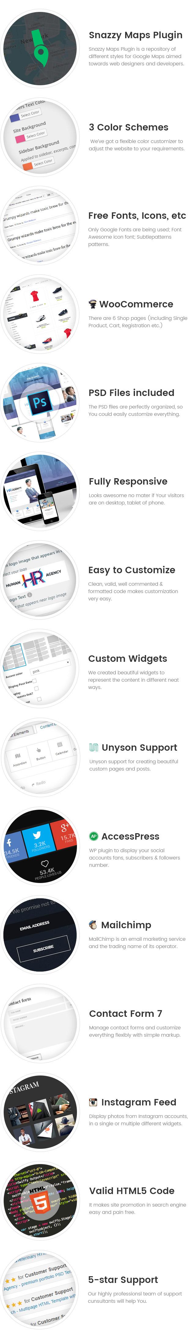 Human Agency - Human Resources WordPress theme