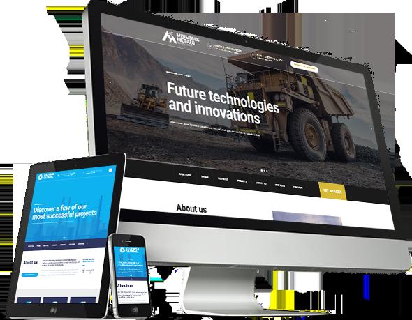 OilDrop - oil and gas industrial WordPress theme