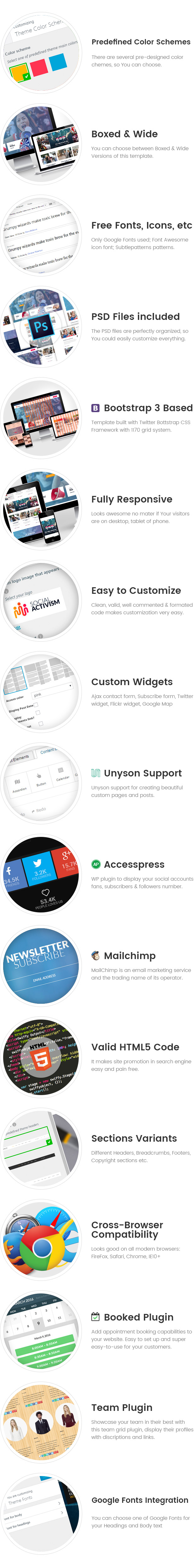 Social Activism - Non-Government Organization WordPress Theme
