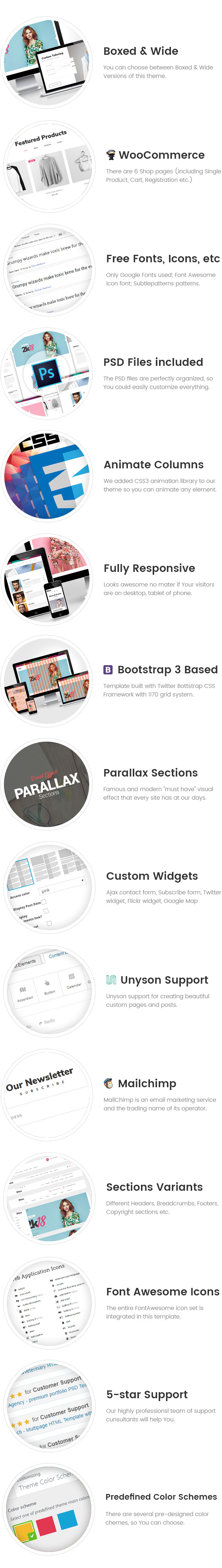 Qtex - Manufacturing and Clothing Company WordPress theme