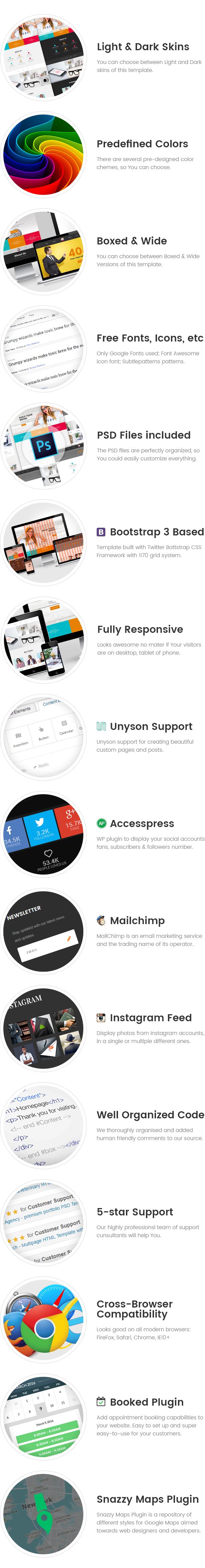 XpertZ - Corporate Multipage WordPress theme